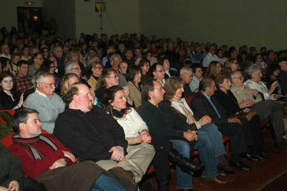 "Every seat is filled at the 2009 premiere of ""The Private Lives of Pippa Lee,"" sponsored by the Connecticut Film Festival in Danbury.The movie was directed by Roxbury resident Rebecca Miller, and was filmed locally. Photo: Jay Weir / The News-Times"