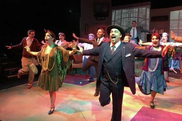 """With big musical numbers, singing and the Charleston, """"The Drowsy Chaperone"""" re-creates Jazz Age Broadway at College of the Mainland Community Theatre.    With big musical numbers, singing and the Charleston, """"The Drowsy Chaperone"""" re-creates Jazz Age Broadway at College of the Mainland Community Theatre."""