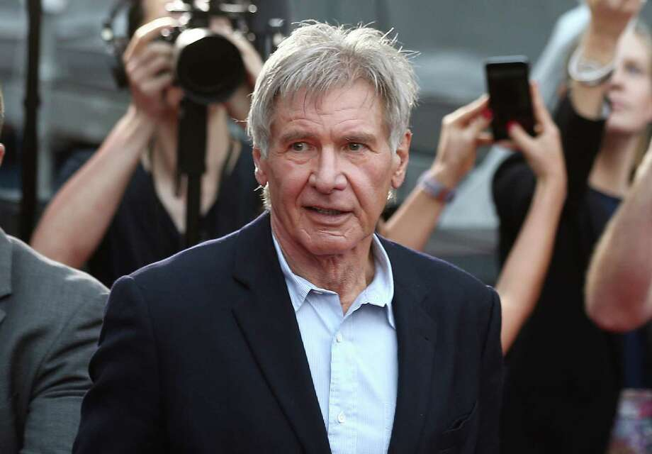 """Harrison Ford was struck by a hydraulic door on the set of the Millennium Falcon in June 2014. At a court hearing Tuesday, prosecutor Andrew Marshall said the door """"could have killed somebody"""" had an emergency stop button not been hit. Photo: Associated Press /File Photo / Copyright 2016 The Associated Press. All rights reserved. This material may not be published, broadcast, rewritten or redistribu"""