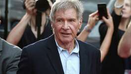 "Harrison Ford was struck by a hydraulic door on the set of the Millennium Falcon in June 2014. At a court hearing Tuesday, prosecutor Andrew Marshall said the door ""could have killed somebody"" had an emergency stop button not been hit."