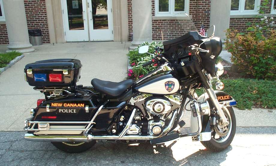 The police department in New Canaan is going to begin using their motorcycle again. Photo: Contributed Photo / New Canaan News
