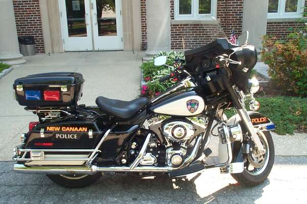 The police department in New Canaan is going to begin using their motorcycle again.