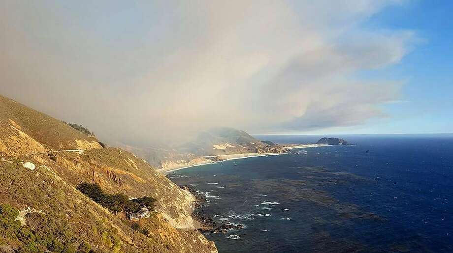 The Soberanes Fire has forced closures of state parks between Carmel and Big Sur. Photo: Cal Fire