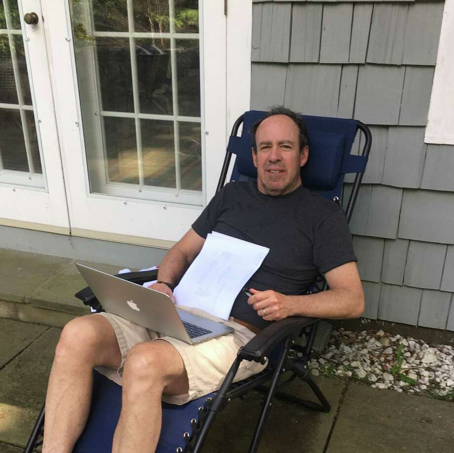 Jon Stone, local mystery/thriller author, is a lifelong resident of New Canaan. Photo: Contributed Photo / Hearst Connecticut Media / New Canaan News