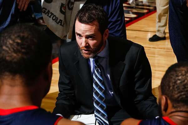 OISE, ID - NOVEMBER 22: Head Coach Will Voigt of the Bakersfield Jam talks to his players during a time out in an NBA D-League game against the Idaho Stampede on November 22, 2013 at CenturyLink Arena in Boise, Idaho. (Photo by Otto Kitsinger/NBAE via Getty Images)