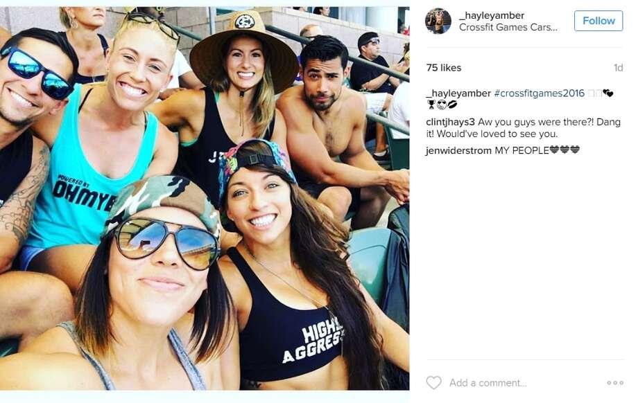 """#crossfitgames2016,"" @_hayleyamber. Photo: Instagram.com"
