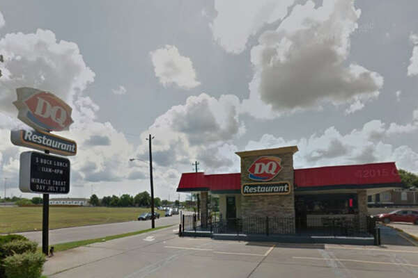Gutierrez's Dairy Queen    Address: 12930 Scarsdale, Houston, Texas 77089    Demerits: 22   Inspection highlights: Ice not safe for human consumption. Ice was contaminated by slime and was discarded.