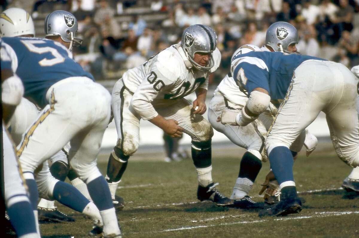 Oakland Raiders # 00 Jim Otto file photos.