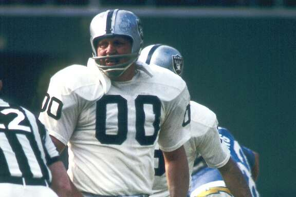 Oakland Raiders # 00 Jim Otto file photos. (Photo by James Flores/Getty Images) *** Local Caption ***