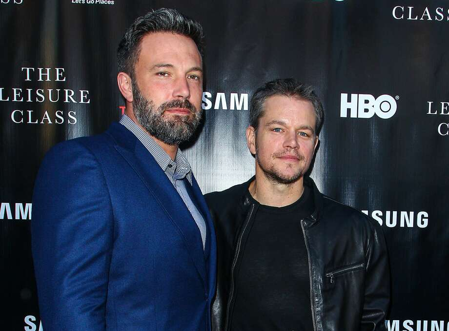 """Ben Affleck and Matt Damon, who created """"Project Greenlight,"""" will turn the attention of their Pearl Street Films production company to the lack of diversity in Hollywood productions. Damon says they were shocked to learn of the small percentage of minority entrants in the """"Project Greenlight"""" competition, which helps independent filmmakers. Photo: Paul A. Hebert, Associated Press"""