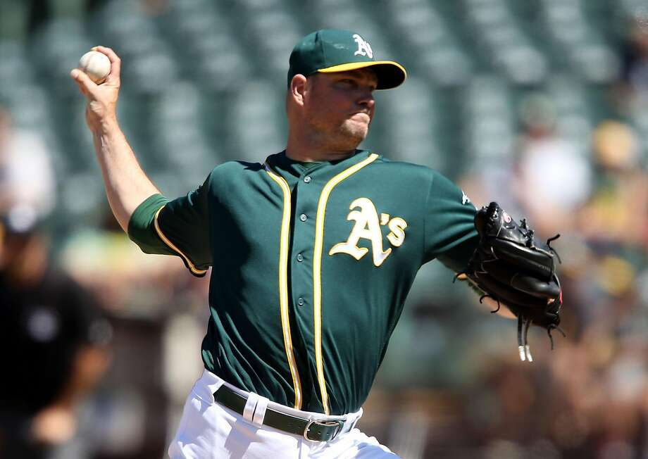 OAKLAND, CA - JULY 24: Ryan Madson #44 of the Oakland Athletics closes the ninth inning against the Tampa Bay Rays at the Oakland-Alameda Coliseum on July 24, 2016 in Oakland, California.  (Photo by Don Feria/Getty Images) Photo: Don Feria, Getty Images