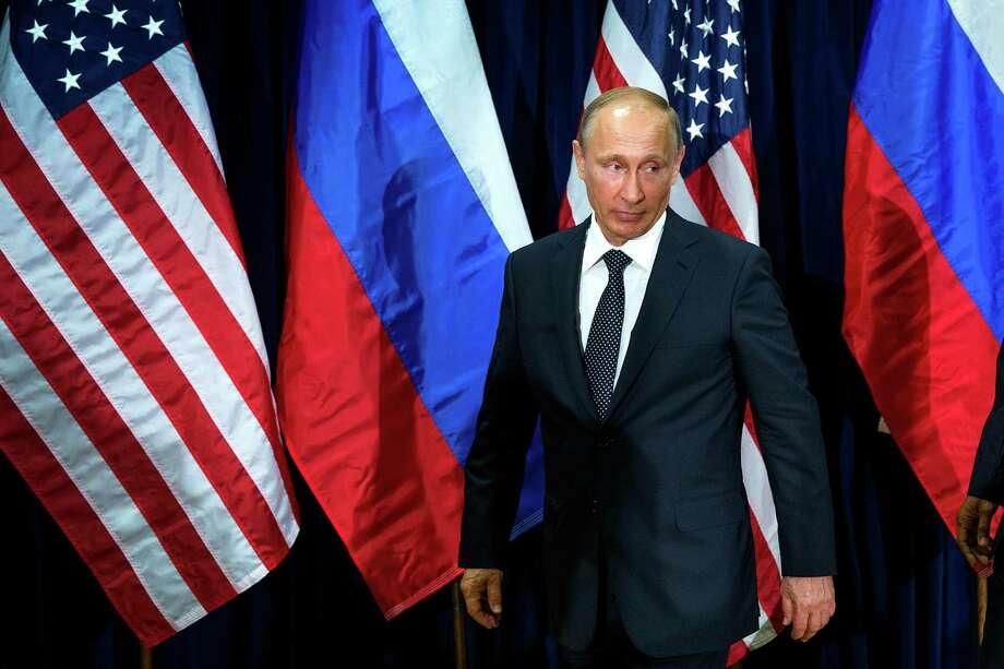 Russian President Vladimir Putin Photo: DOUG MILLS, STF / NYTNS