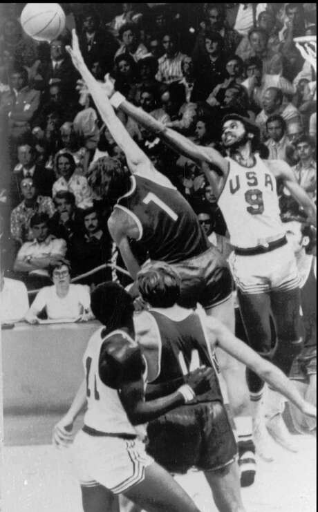 Dwight Jones, right, was involved in one of basket-ball's most controversial games, the United States' loss to the Soviet Union in the 1972 Olympic final. Photo: HK