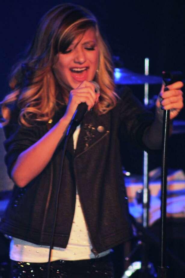 Rockstar Academy student Emma Sanchez belts out a tune. Photo: Courtesy Photo