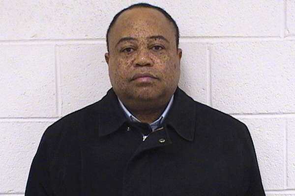 Rev. Honore Kombo, a Roman Catholic Priest was arrested by Seymour Police Detectives Feb. 29, 2016 for embezzling money from St. Augustine Church in Seymour.