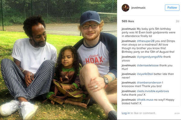 Ed Sheeran was recently photographed sporting a large wedding-band looking ring on his ring finger. He has been on a hiatus for about seven months, so he definitely could have gotten married in that time. Take a look through the gallery to see other longtime celebrity couple then and now.  Photo: @jovelmusic Instagram