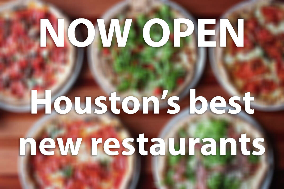 Check out some of the Houston area's best new restaurant openings.