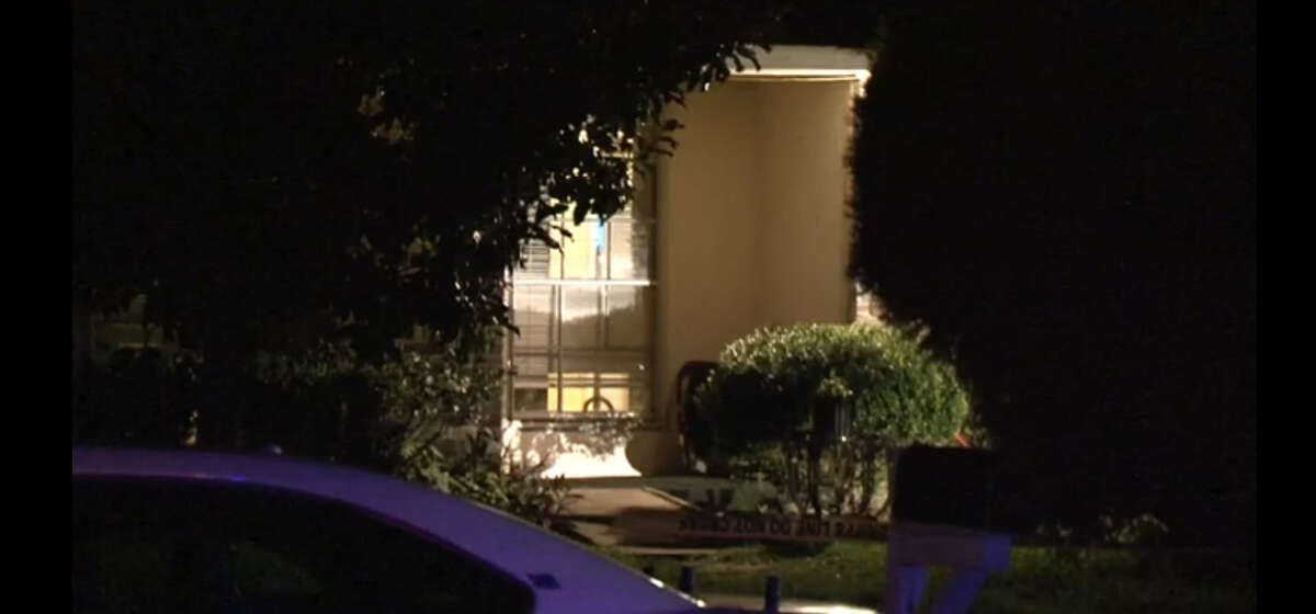 A child, believed to be 5 years old, was shot on Tuesday evening at a home in the 9700 block of Shady Tree Lane. (Metro Video)