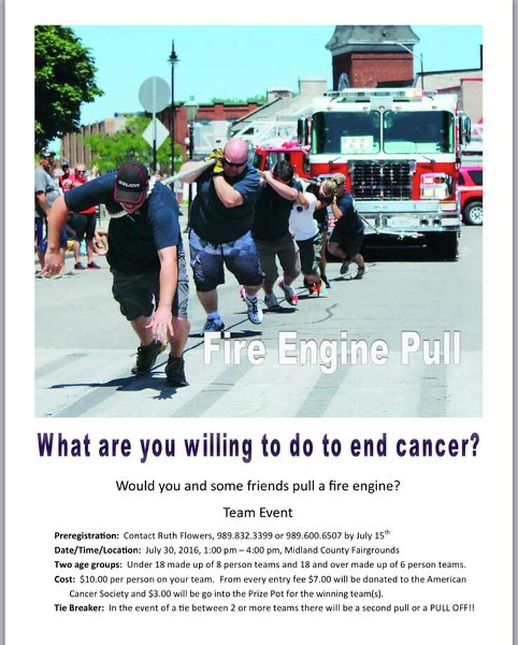 New to this year's Relay For Life, the fire engine pull is scheduled for 1 to 4 p.m. Saturday, July 30, at the Midland County Fairgrounds. (Photo provided)