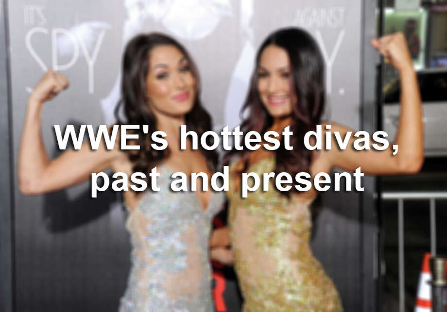 Keep clicking to view WWE's hottest divas from the past and present. Photo: Gregg DeGuire, Getty Images / 2012 Gregg DeGuire