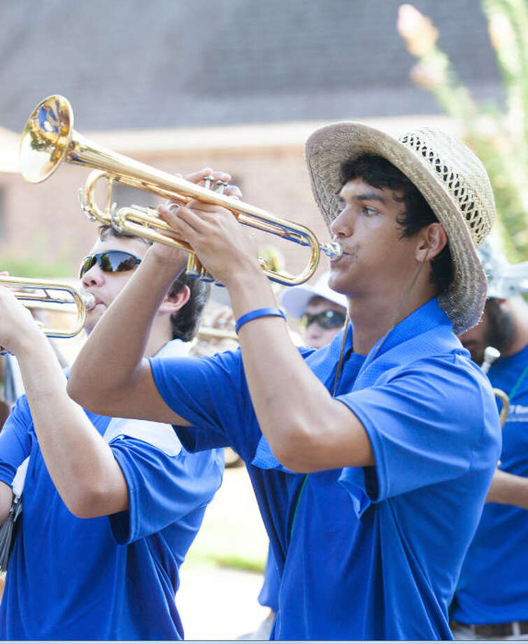 The Taylor High School band is preparing for its seventh annual March-A-Thon in August. Photo: PICHE Photography