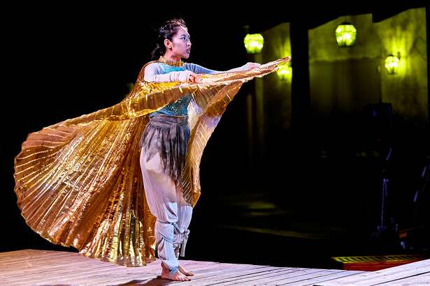 "Wenona Truong plays a goddess and ensemble roles in ""The Tempest."""