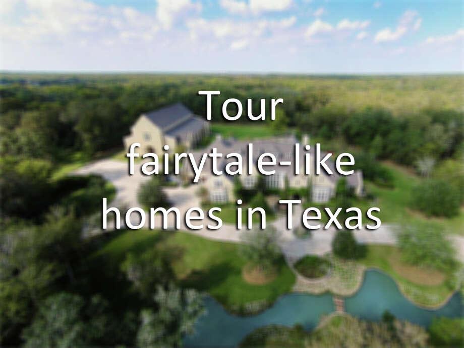 Go inside stunning Texas castles.