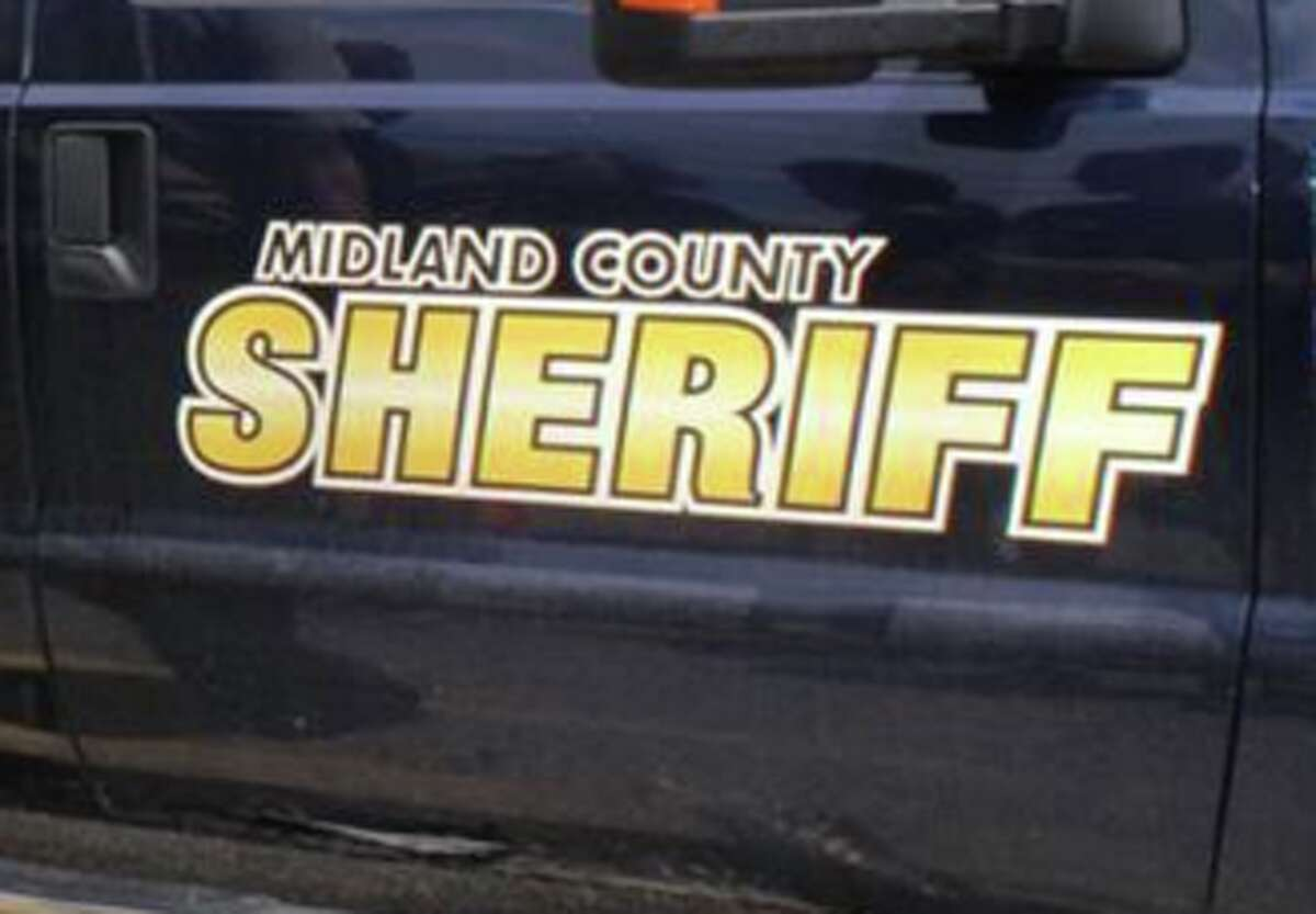 AMidland County Sheriff vehicle.