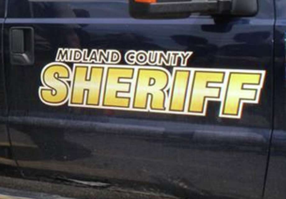 A Midland County Sheriff vehicle.