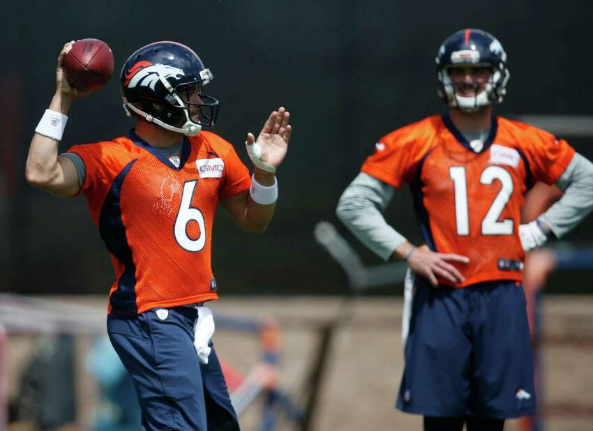 Broncos: Who's next at QB? After Peyton Manning's retirement, journeyman Mark Sanchez (6) and rookie Paxton Lynch (12) will be the front-runners to take over at quarterback for the defending champions. Denver was able to weather Manning's mediocrity last year thanks to an all-time great defense. Whether the Broncos can do it again may be asking too much. Sanchez did take the Jets to a pair of AFC championship games, but that was an eternity ago, pre-Buttfumble.