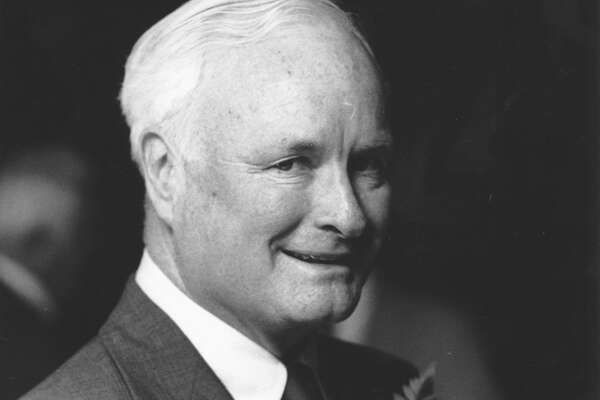 May 21, 1988 - Former Stamford Mayor William F. Hickey. He was honored by the State Street Debating Societey.