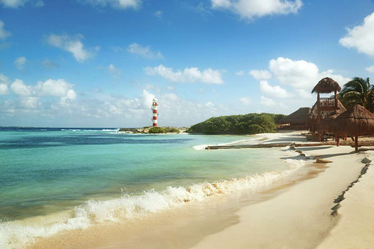 U.S. News & World Report's top 10 places to travel in Mexico above: 10. Cancun: Made the list since it's relatively cheap to travel here, and it offers affordable lodging and dining. Go to Chichen Itza and see Mayan ruins or escape touristy beaches at Playa Tortugas.