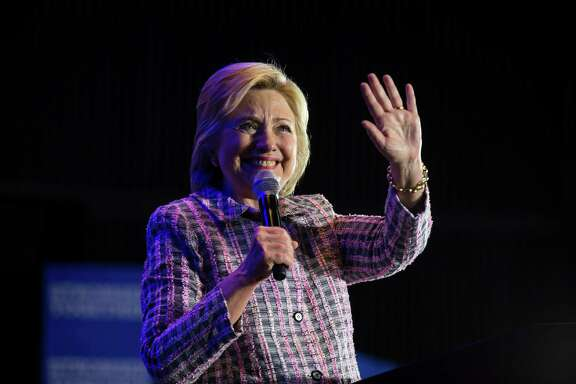 Hillary Clinton speaks during a campaign event in Charlotte, N.C. on Monday. Hillary always points out how she is a target for attack, but the two controversies that have dogged her in the past year were entirely of her own doing.