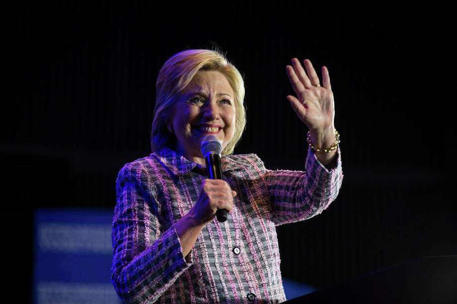 Hillary Clinton speaks during a campaign event in Charlotte, N.C. on Monday. Hillary always points out how she is a target for attack, but the two controversies that have dogged her in the past year were entirely of her own doing. Photo: RUTH FREMSON /NYT / ONLINE_YES