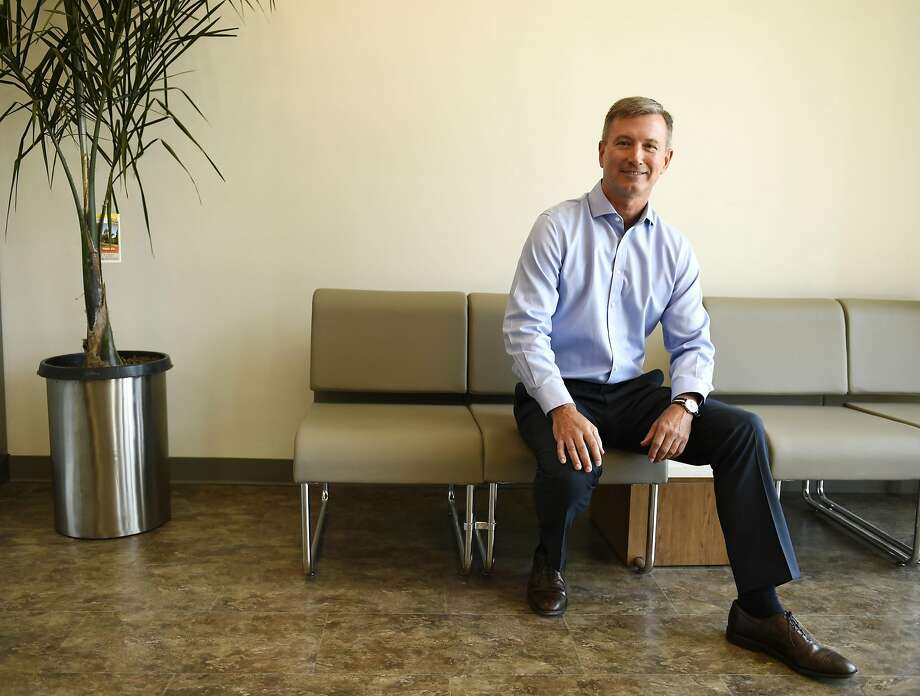 Chuck Kruger, President, GoHealth Northern California poses for a portrait in the company's new Castro clinic. Photo: Michael Noble Jr., The Chronicle