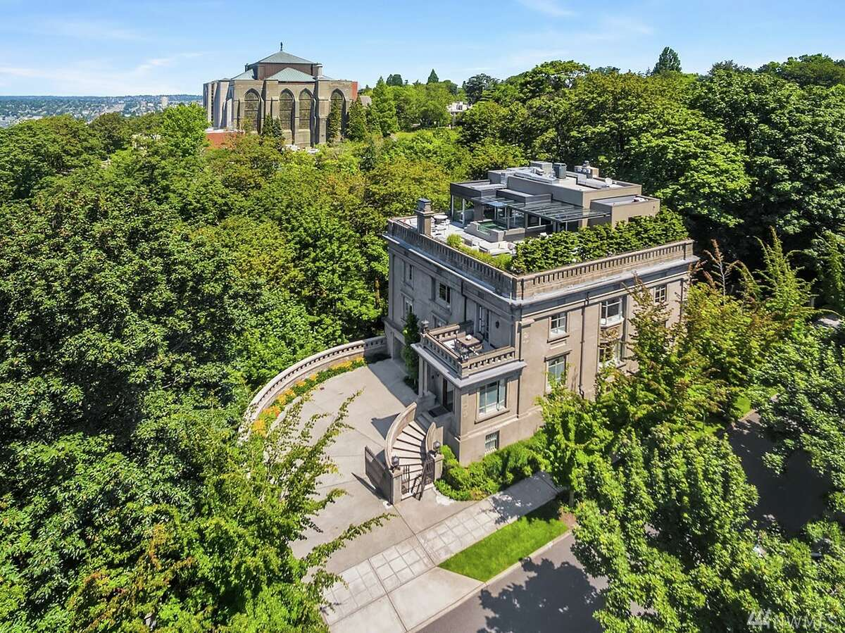 The Sam Hill Mansion, 814 E. Highland Drive, is the current most expensive listing in the city. It has five bedrooms, 6½ bathrooms and spans 11,000 square feet. It is listed for $15 million. You can see the full listing here.