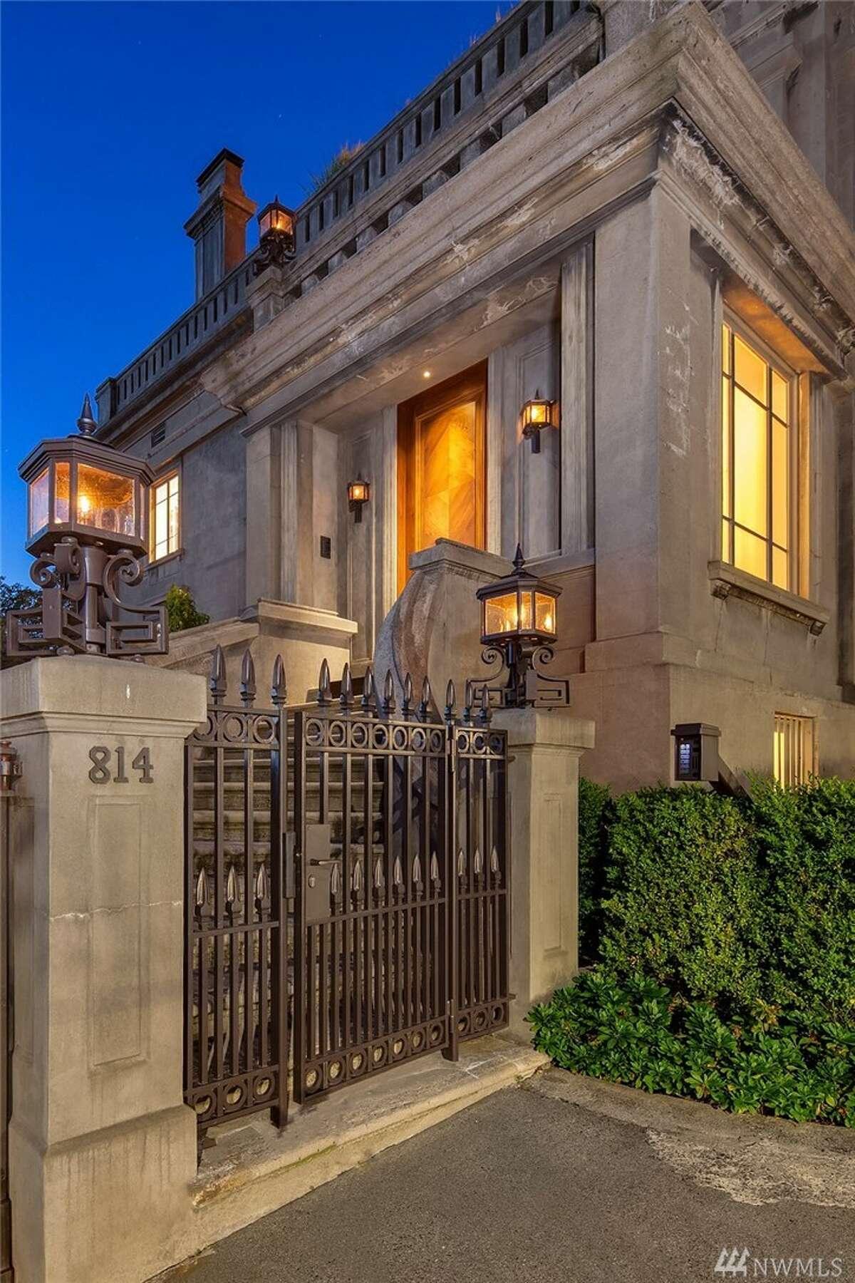 The Sam Hill Mansion.