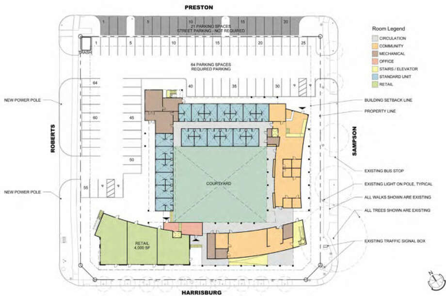 Ground floor plan of Harrisburg. Courtesy: GSMA. Photo: Courtesy: GSMA.