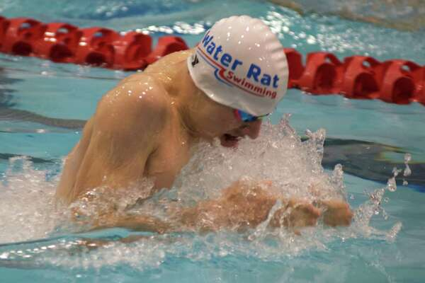 Westporter Dashiell Hunter competes for the Family Y Water Rats during the summer.