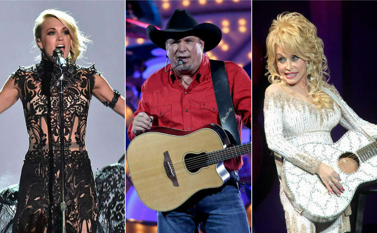 Carrie Underwood, Garth Brooks, Dolly Parton are among the top stars on Forbes' list of highest-paid country musicians. Keep clicking to see how much they and others on the list made.