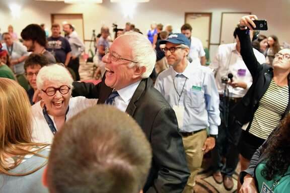 Senator Bernie Sanders singled out the young people who voted for him by wide margins at delegation breakfasts, including Texas, on Wednesday at the Democratic National Convention.