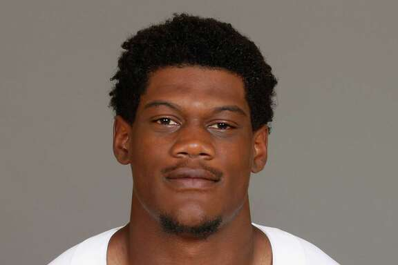 File-This a 2016 photo shows Randy Gregory of the Dallas Cowboys NFL football team.  Gregory is facing a longer suspension over another violation of the NFL?s substance-abuse policy, and owner Jerry Jones says he doesn?t expect to see the troubled player at training camp in California. With Gregory already suspended for the first four games this season, Jones said Wednesday, July, 27, 2016, that the Cowboys haven?t heard from the league about a possible 10-game ban for another failed drug test.(AP Photo)