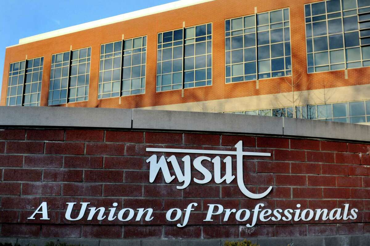 New York State United Teachers (NYSUT) building on Friday, Dec. 11, 2015, in Latham, N.Y. (Cindy Schultz / Times Union archive)