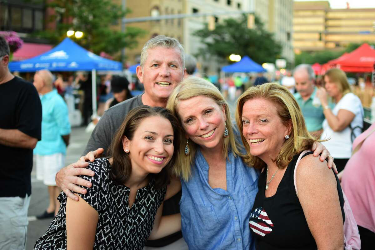 Fans flocked to Stamford's Columbus Park on July 27, 2016, to rock out with 1980s music sensation Pat Benatar and musician husband Neil Giraldo. The duo closed out the month-long concert series, Wednesday Nite Live! Were you SEEN?