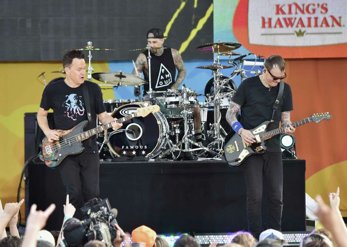 Blink-182 will be performing at the Xfinity Theatre in HartfordFridayas part of their A Day to Remember tour.Find out more.