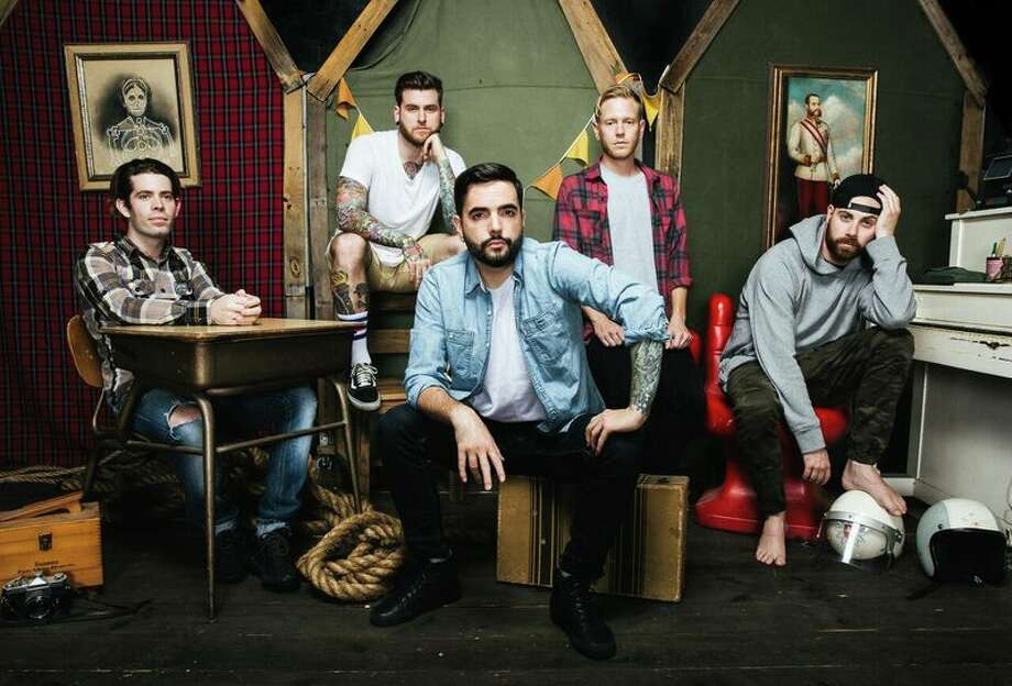 A Day to Remember is touring with Blink-182 Photo: Courtesy
