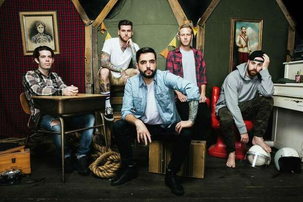 A Day to Remember is touring with Blink-182