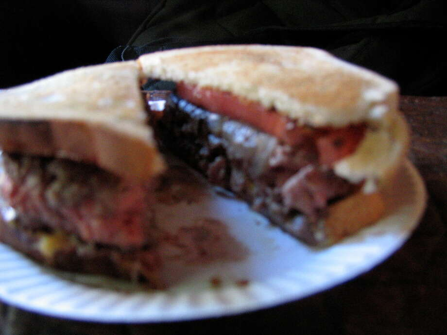"""Louis Lunch in New HavenYelp score: 3.5 out of 5 (667 reviews)One-star review: """"Are you looking for an overhyped restaurant? Do you enjoy bland, dry, over priced hamburgers? Well, then Louis' Lunch is for you. I seriously don't understand why anyone says they like this place. It is literally the worst hamburger I have ever eaten. Even the frozen burgers from the supermarket are superior."""" - Keith C."""