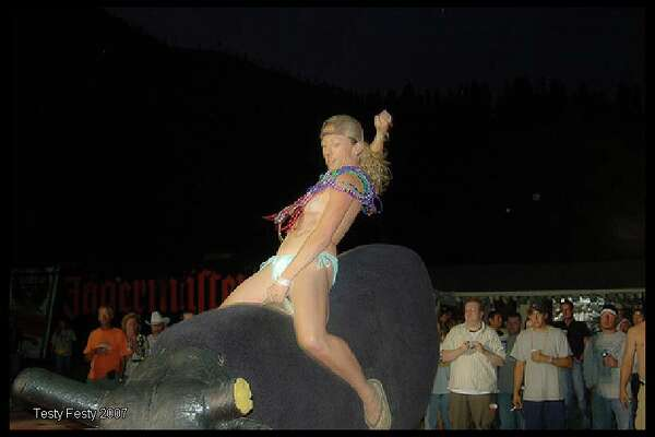 "The annual Testicle Festival held in Clinton, Montana is slated to kick off as it normally does: The first week of August. The festival, which invites male and female nudity for a time ""you will never forget or never remember"" was started in 1989."