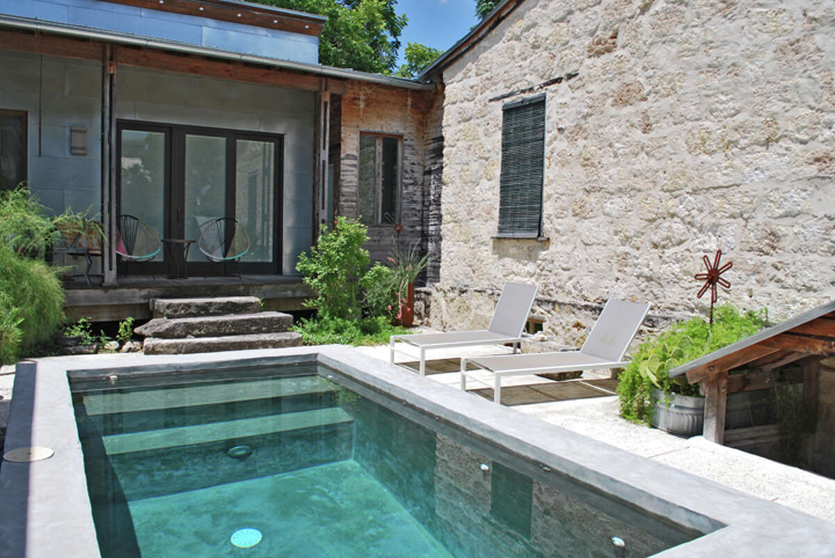 """Candid Rogers recently installed an 8-foot-by-14-foot pool at his Lavaca home. Asked how many friends he's crammed into it, he replied, """"About 10."""""""